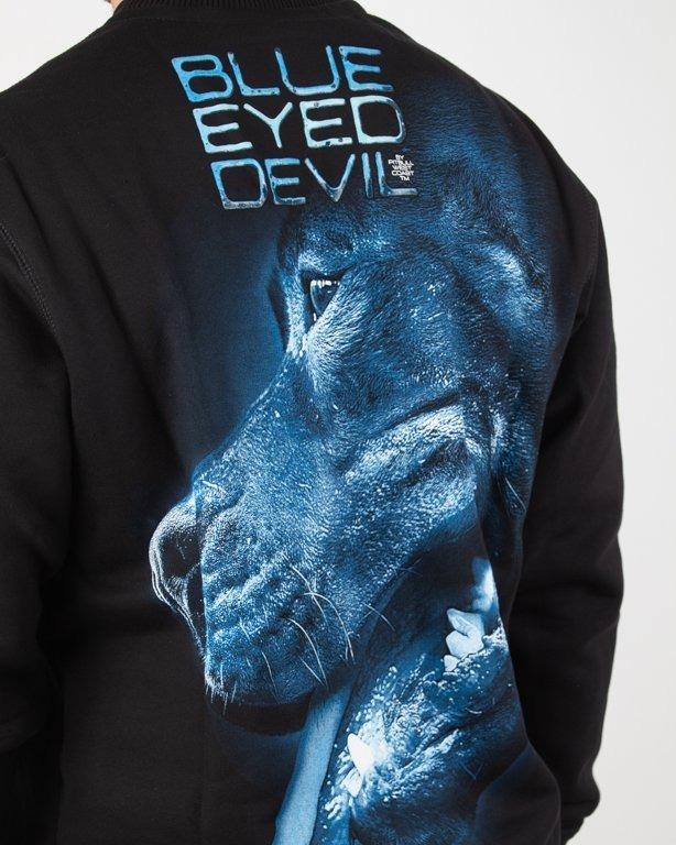 Bluza Pitbull Blue Eye Devil X Black