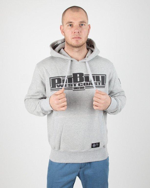 Bluza Pitbull Hoodie Boxing Melange