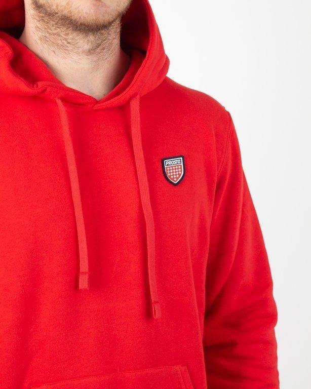 Bluza Prosto Hoodie Network Red
