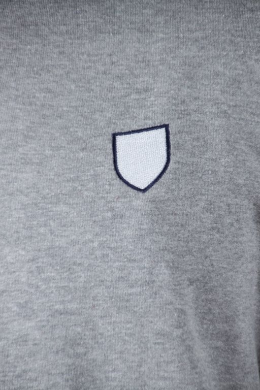 Bluza Prosto Hoodie Zip Dab Grey