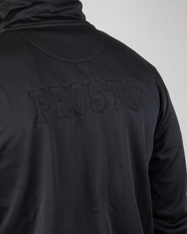 Bluza Prosto Zip Football Olimpia Black