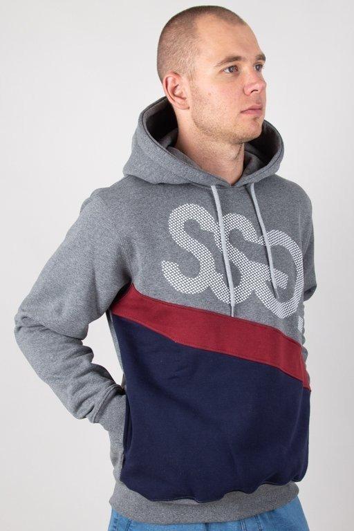 Bluza SSG Hoodie Dots Triple Grey-Navy