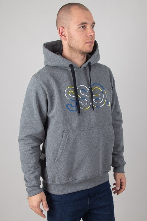 Bluza SSG Hoodie Outline Colors Grey