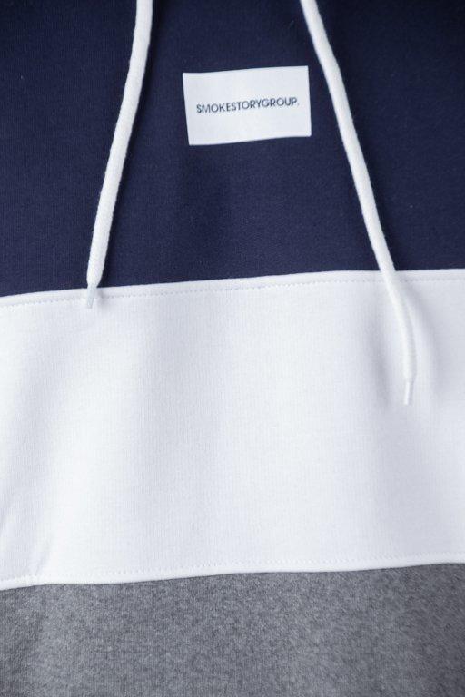Bluza SSG Hoodie Three Colors Navy-White