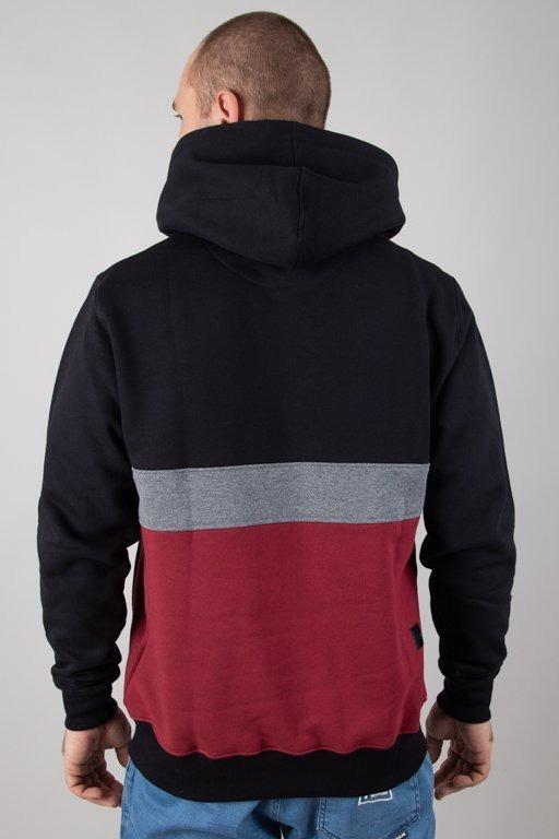 Bluza SSG Hoodie Triple Line Black-Brick