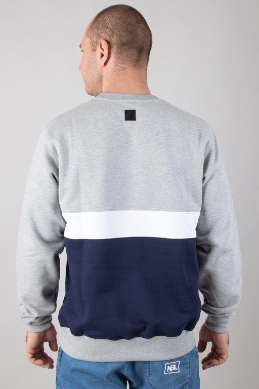 Bluza SSG Triple Line Melange-Navy