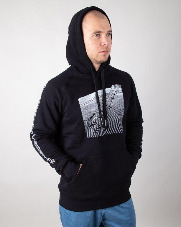 Bluza Stoprocent Hoodie Tektonik Black
