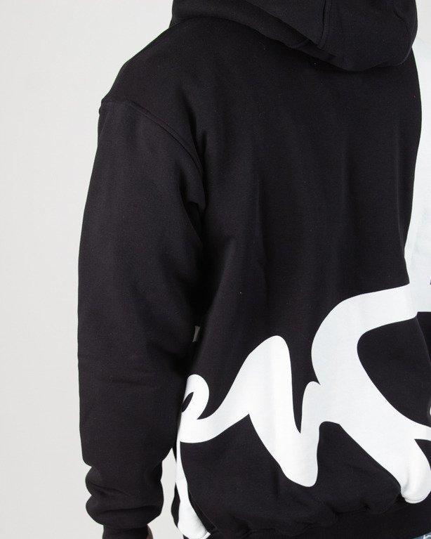 Bluza Stoprocent Hoodie Zip Bigtag Black