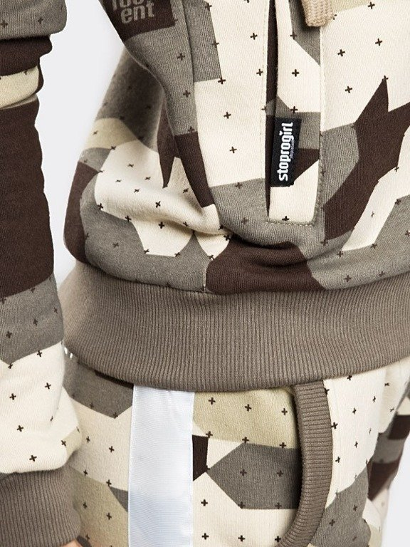Bluza Stoprocent Hoodie Zip Woman Tape Camo