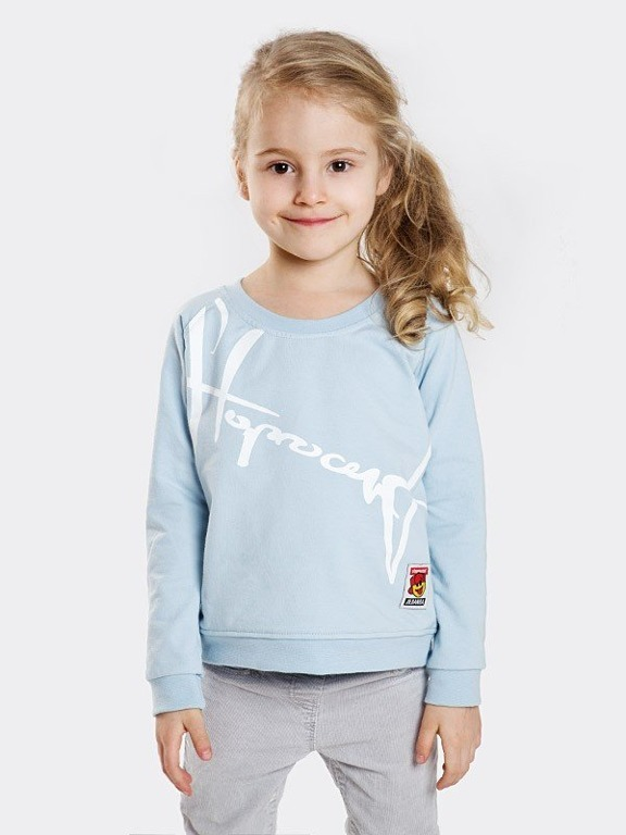 Bluza Stoprocent Kid Downhill Blue