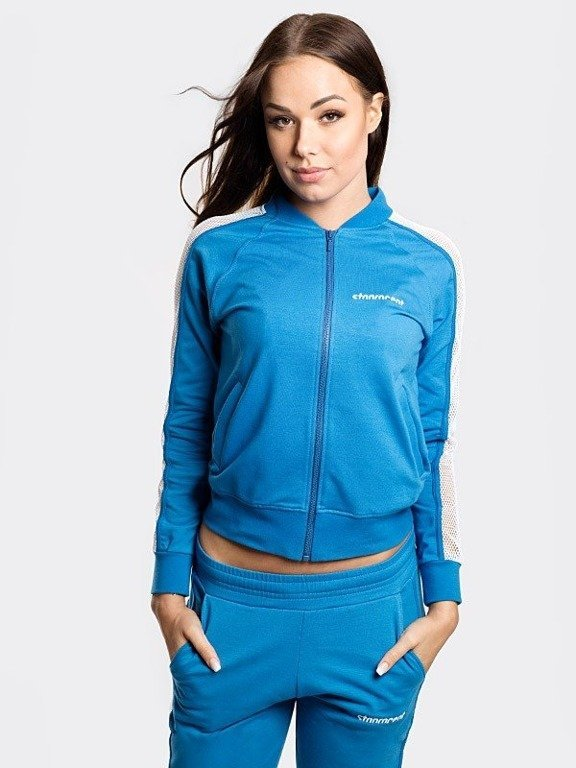 Bluza Stoprocent Zip Woman Mesh Blue
