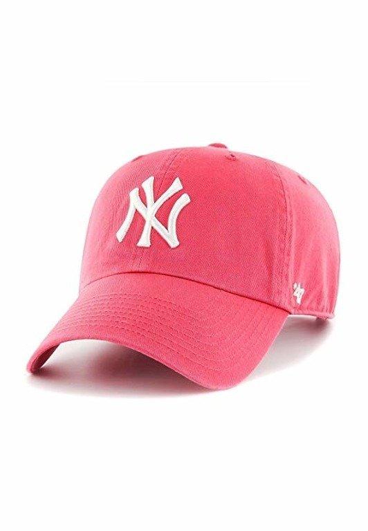 Czapka 47 Brand Clean Up New York Yankees Pink