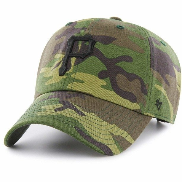 Czapka 47 Brand Clean Up Pittsburgh Pirates Camo