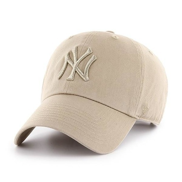 Czapka 47 Brand New York Yankees Clean Up Beige-Beige
