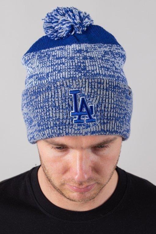 Czapka 47 Brand Zimowa Cuff New York Yankees Knit Blue