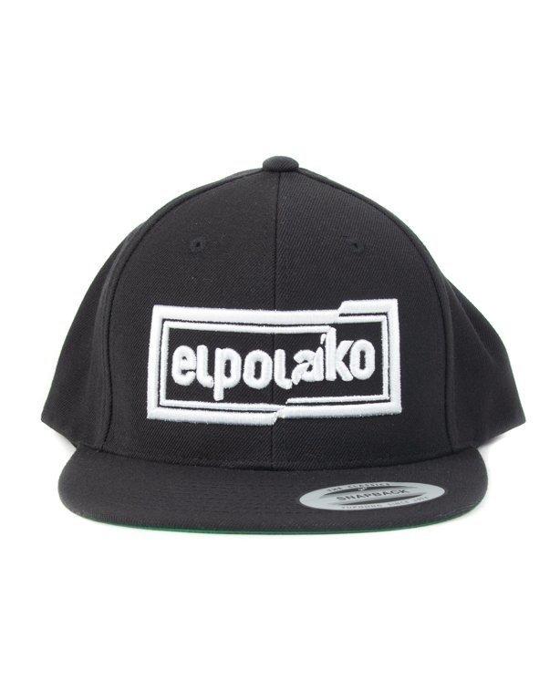 Czapka El Polako Snapback Cut Colors Black