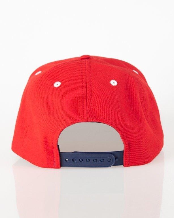 Czapka Prosto Snapback Massive Red