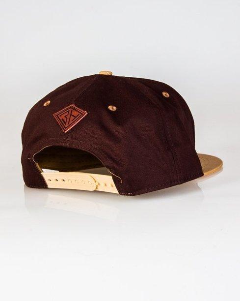 Czapka True Spin Snapback Classic Small Brown Dark