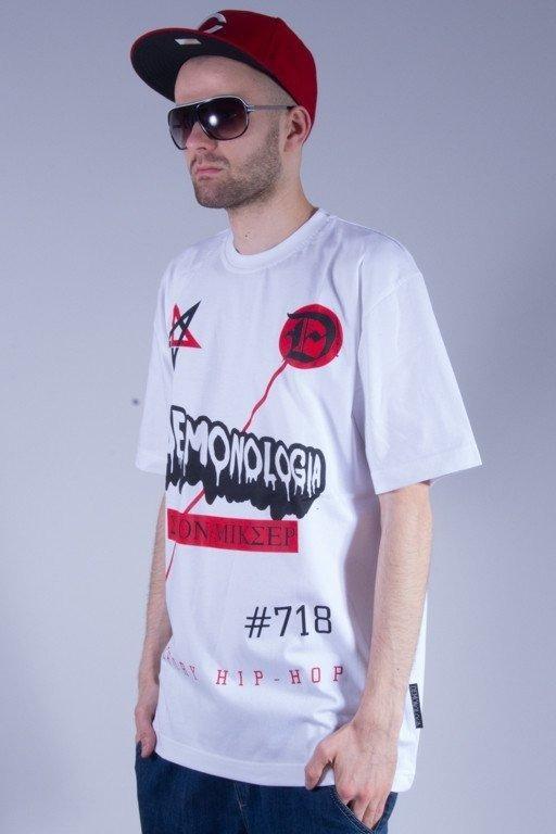 DEMONOLOGIA KOSZULKA #718 WHITE