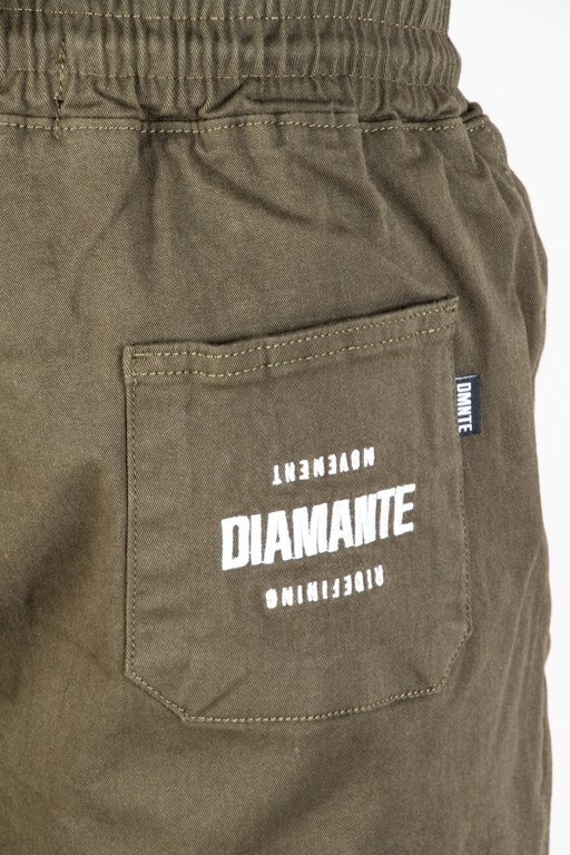 DIAMANTE WEAR PANTS CHINO JOGGER RM CLASSIC KHAKI