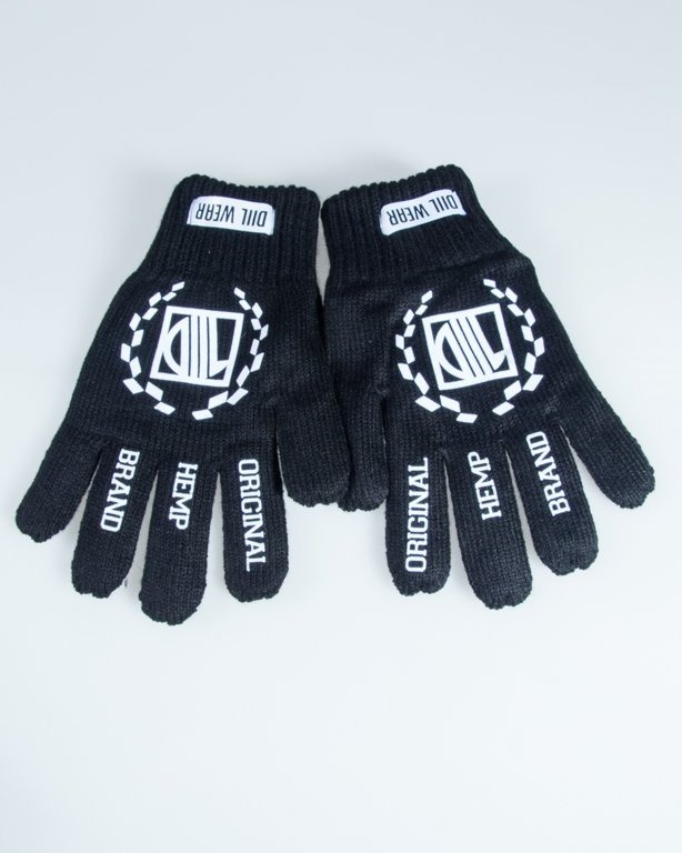 DIIL GLOVES DL BLACK