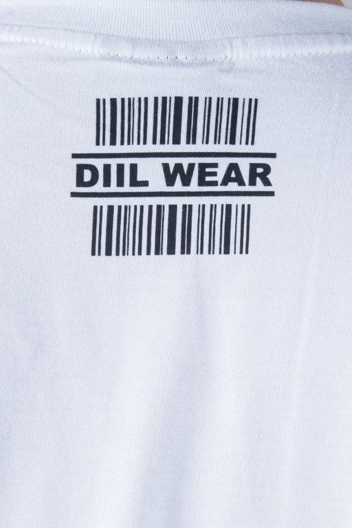 DIIL T-SHIRT CODE WHITE