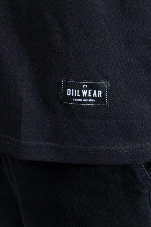 DIIL T-SHIRT LAURENT BLACK-YELLOW