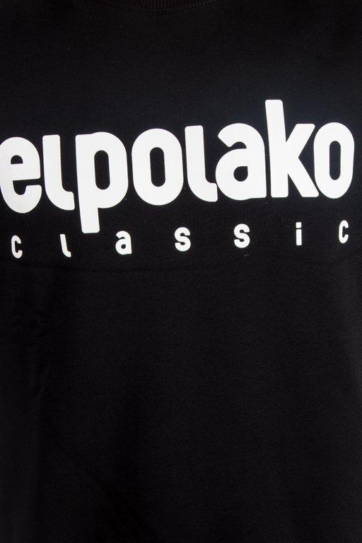 EL POLAKO CREWNECK CLASSIC LOGO BLACK