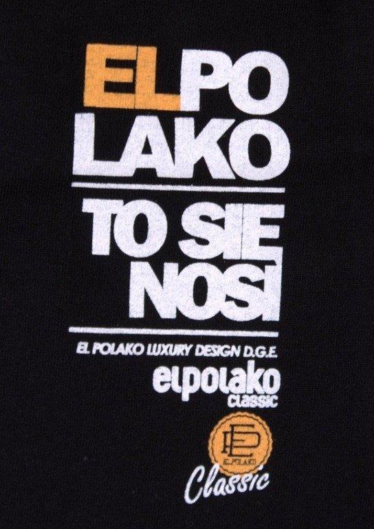 EL POLAKO KOSZULKA BURDEL KING BLACK