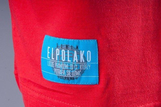 EL POLAKO KOSZULKA DENIM RED