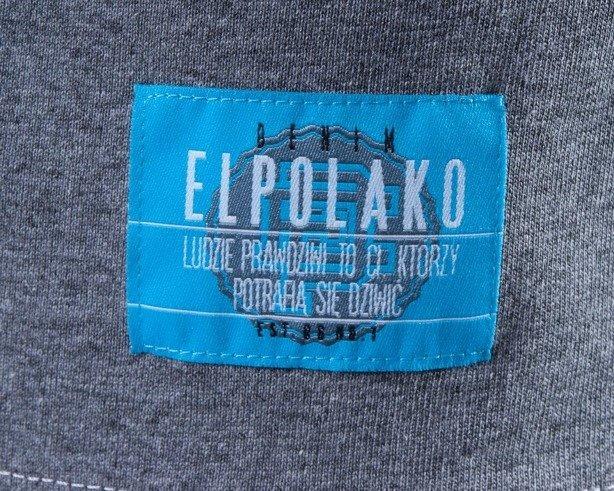 EL POLAKO KOSZULKA KEEP CALM GREY