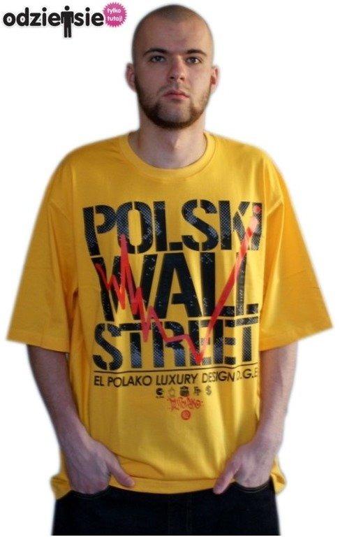 EL POLAKO KOSZULKA POLSKI WALL STREET YELLOW
