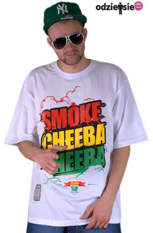 EL POLAKO KOSZULKA SMOKE CHEEBA CHEEBA WHITE