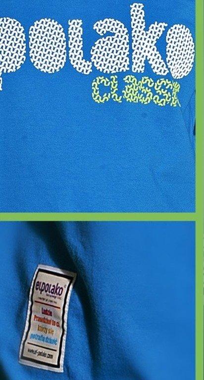 EL POLAKO LONGSLEEVE ŚLIMAK BLUE