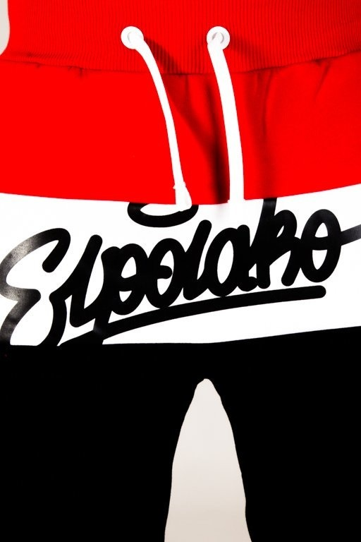 EL POLAKO SWEATPANTS 3COLORS WRITTEN  BLACK