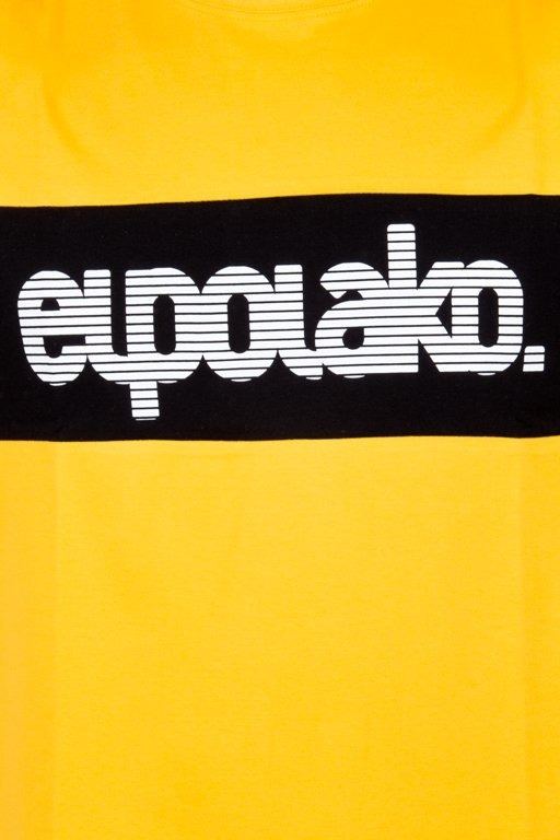 EL POLAKO T-SHIRT ALFABET YELLOW