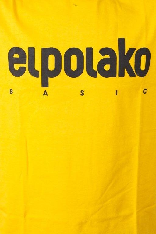 EL POLAKO T-SHIRT CLASSIC YELLOW