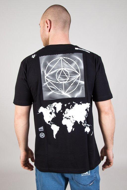 EL POLAKO T-SHIRT CYRCLE WORLD BLACK