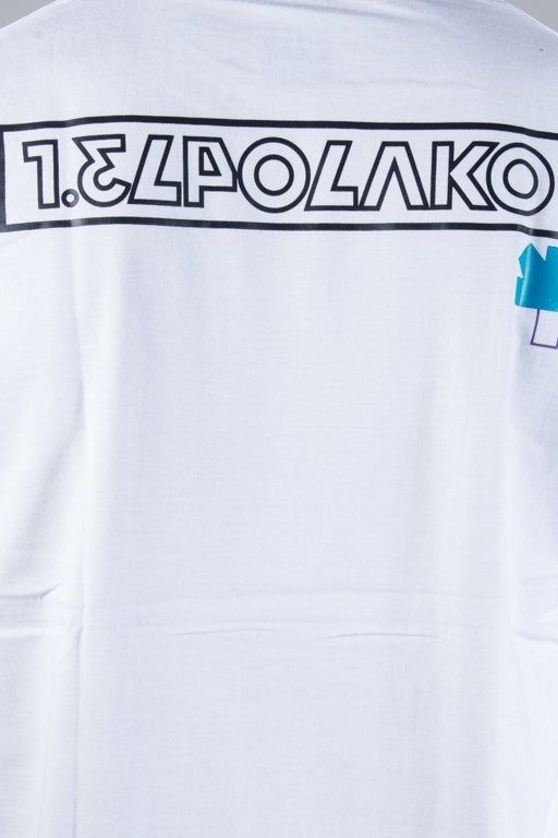 EL POLAKO T-SHIRT NUMBER WHITE
