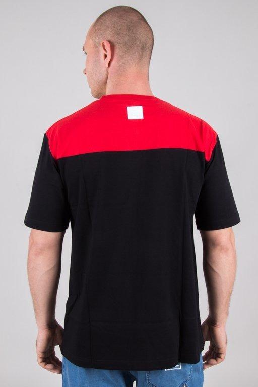 EL POLAKO T-SHIRT WRITTEN COLORS RED-BLACK