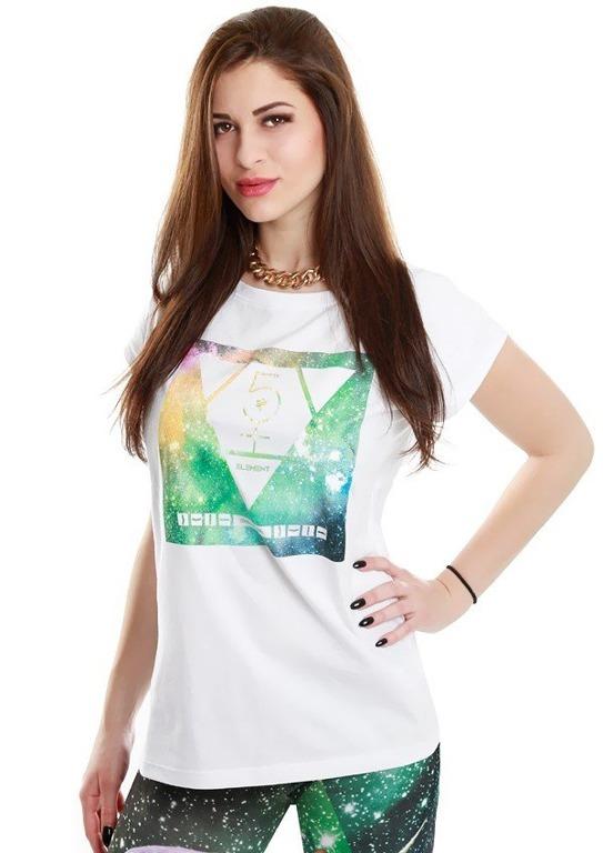 ENDORFINA T-SHIRT COSMO WHITE
