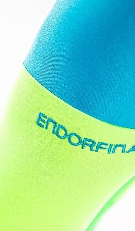 Endorfina Leginsy Cut Blue-Green