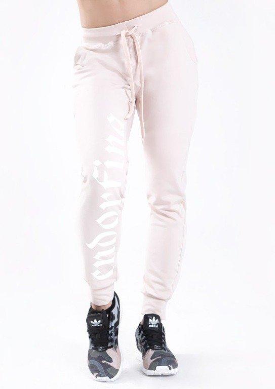 Endorfina Spodnie Dresowe Got Pale Pink