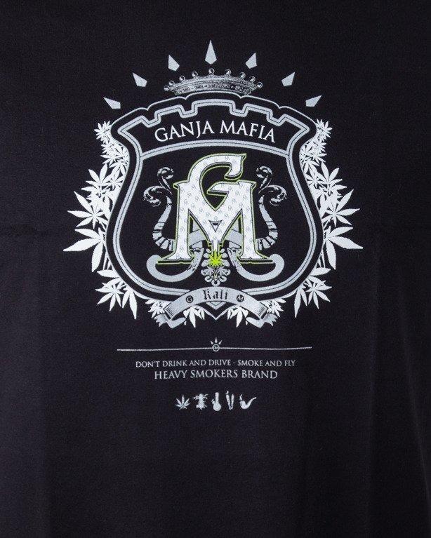 GANJA MAFIA T-SHIRT HERB BLACK