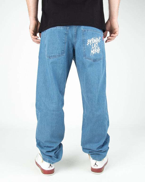 Jeans El Polako Betonowe Light Blue