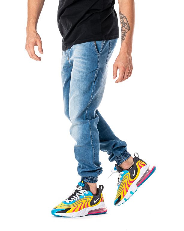 Jeans Jogger Mustache Equalizer Classic Light