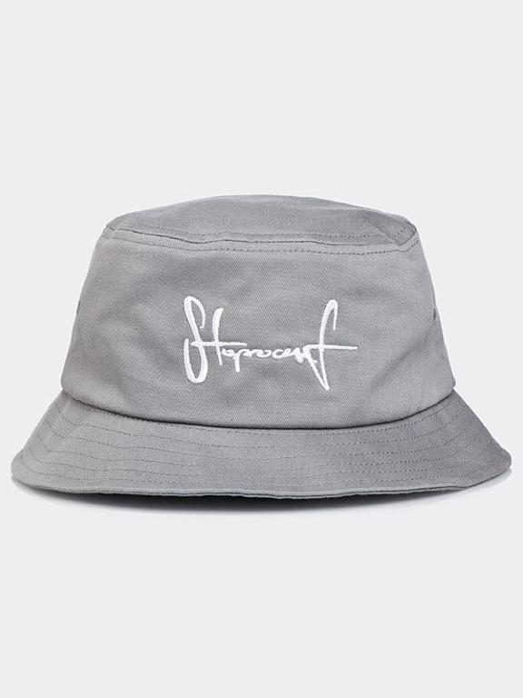 Kapelusz Stoprocent Bucket Hat Grey