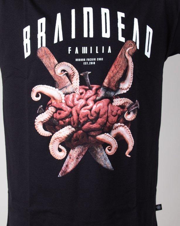 Koszulka Brain Dead Familia Brain Black