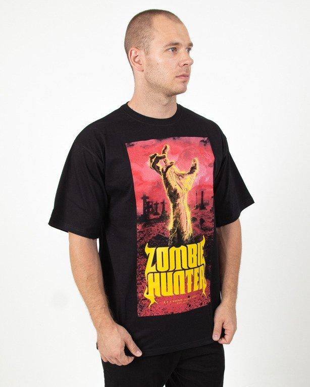 Koszulka Brain Dead Familia Zombie Hunter Black