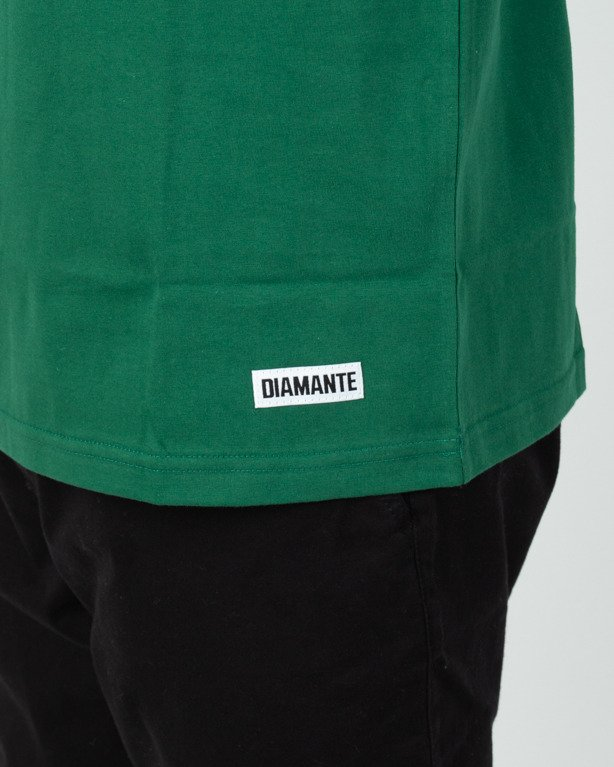 Koszulka Diamante Wear Fuck Everything Green-Gold